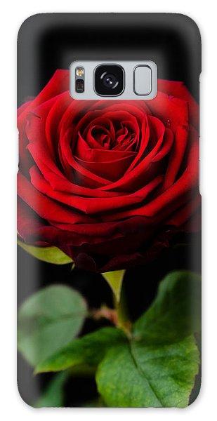 Single Rose Galaxy Case