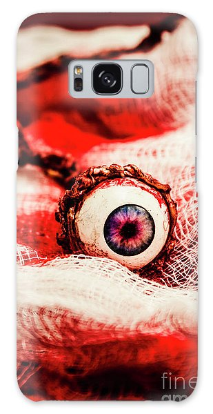 Body Parts Galaxy Case - Sinister Sight by Jorgo Photography - Wall Art Gallery