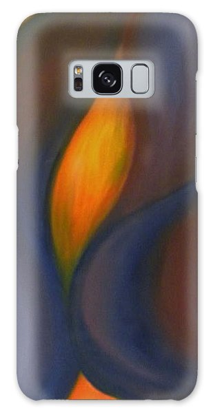Sinuous Curves Galaxy Case by Fanny Diaz