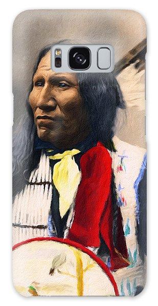 Sioux Chief Portrait Galaxy Case