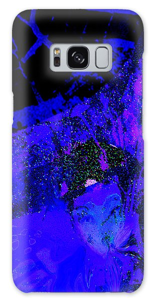 Sipping Ultra Violet Galaxy Case
