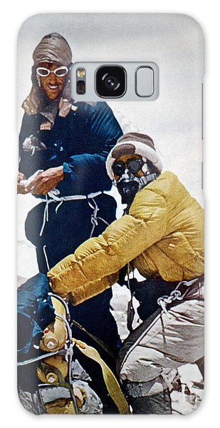 Sir Edmund Hillary Galaxy Case