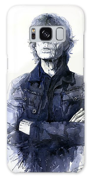 Portret Galaxy Case - Sir Mick Jagger by Yuriy Shevchuk