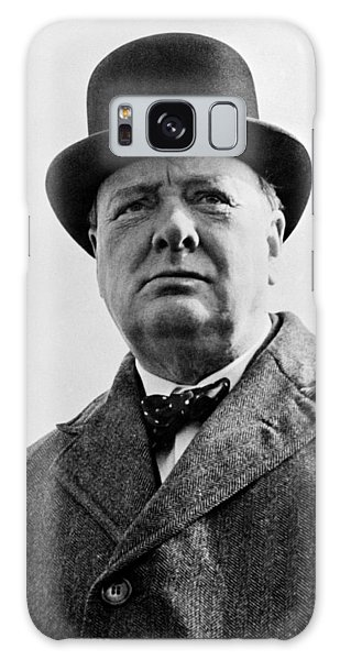 England Galaxy Case - Sir Winston Churchill by War Is Hell Store