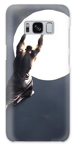 Imagery Galaxy Case - Sisyphus Lamp 05 by Joaquin Abella
