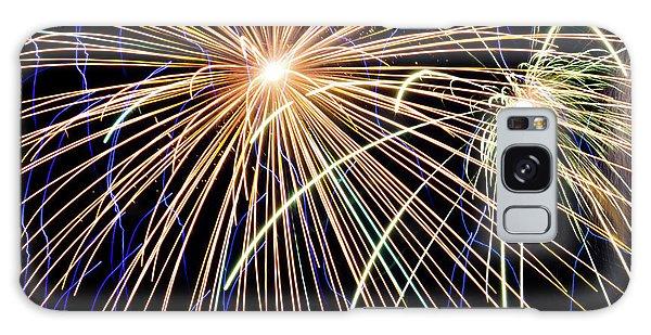 Sister Bay Fireworks Galaxy Case
