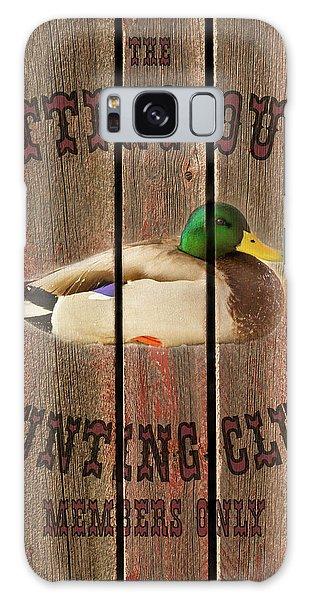Sitting Duck Hunting Club Galaxy Case