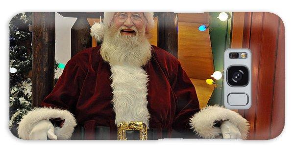 Sitting Santa Claus Galaxy Case