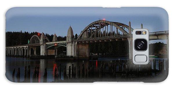 Siuslaw Bridge Galaxy Case