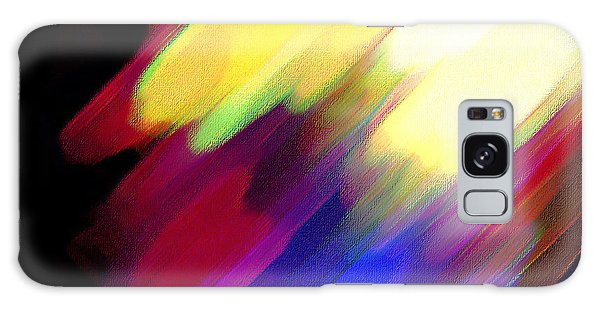 Sivilia 1 Abstract Galaxy Case by Donna Corless