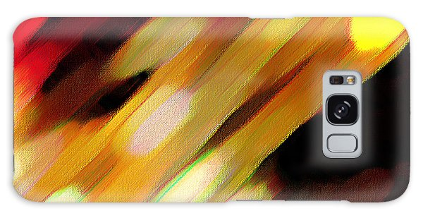 Sivilia 11 Abstract Galaxy Case by Donna Corless
