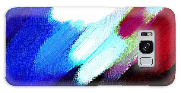 Sivilia 12 Abstract Galaxy Case by Donna Corless