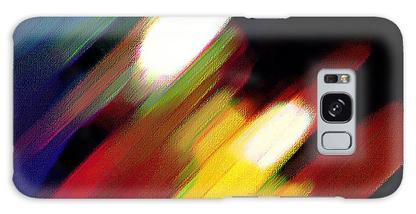 Sivilia 5 Abstract Galaxy Case by Donna Corless