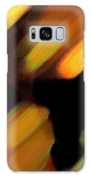 Sivilia 6 Abstract Galaxy Case by Donna Corless