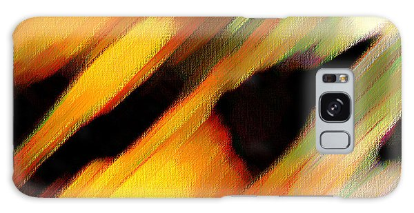 Sivilia 8 Abstract Galaxy Case by Donna Corless