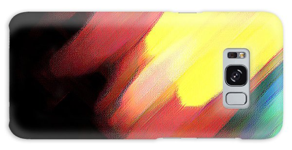 Sivilia 9 Abstract Galaxy Case by Donna Corless