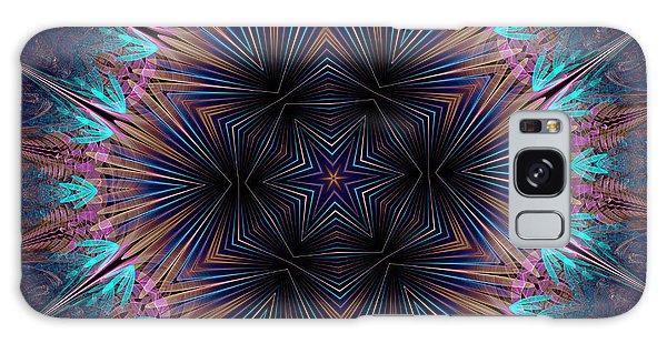 Six Petal Star Kaleidoscope Galaxy Case