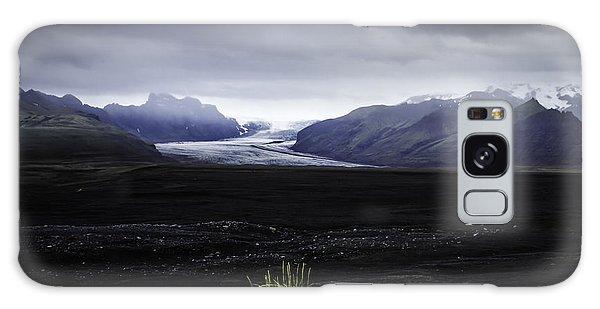 Skaftafellsjokull Glacier Galaxy Case by Nancy Dempsey