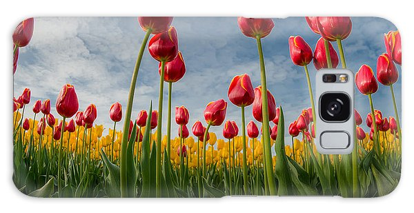 Galaxy Case featuring the photograph Skagit Valley Spring Joy by Dan Mihai