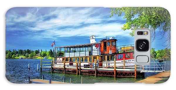 Skaneateles Lake Cruise Boat Galaxy Case