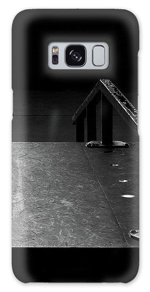 Skateboard Ramp II Galaxy Case by Richard Rizzo