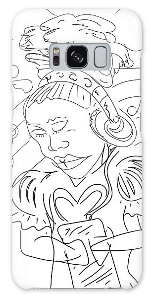 Sketch A9 Galaxy Case