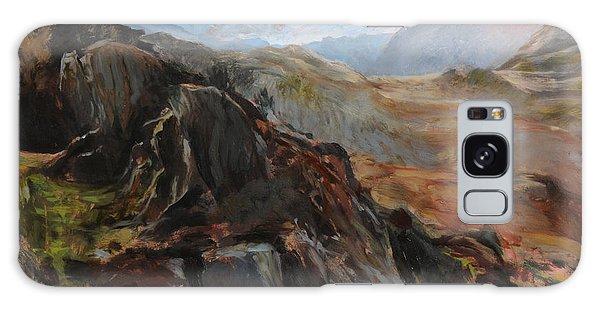 Sketch In Snowdonia Galaxy Case