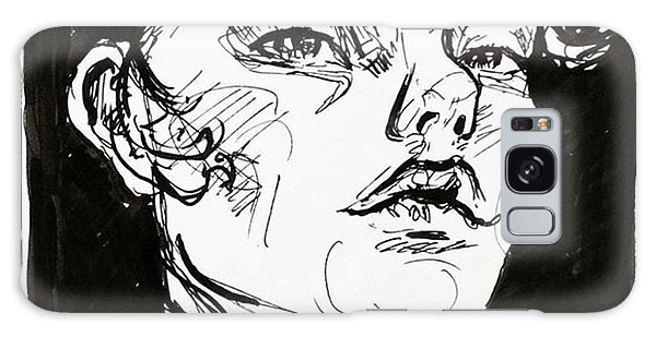 Galaxy Case - Sketchbook Scribbles by Faithc Original Artwork