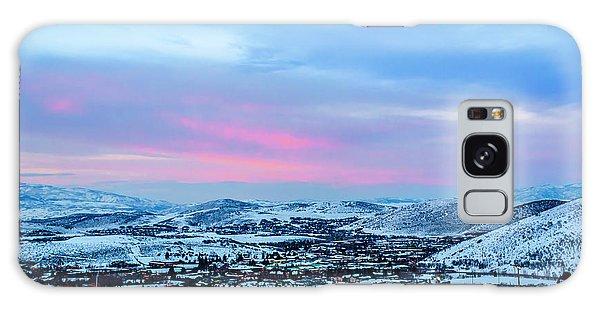 Ski Town Galaxy Case
