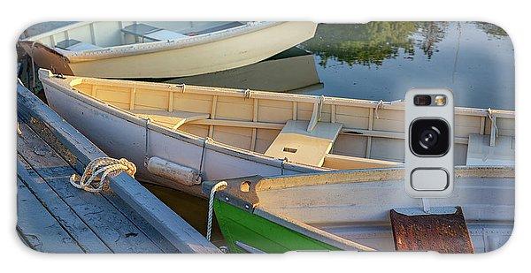 Galaxy Case featuring the photograph Skiffs In Tenants Harbor by Rick Berk