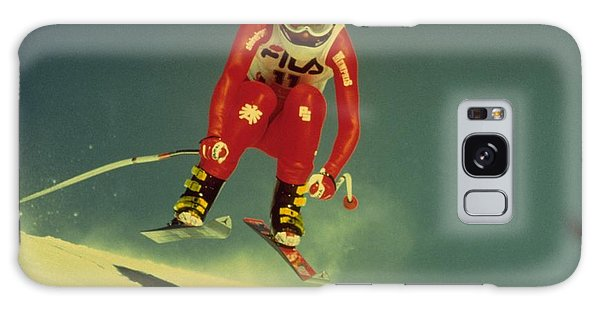Skiing In Crans Montana Galaxy Case