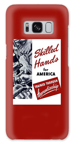 Political Galaxy Case - Skilled Hands For America by War Is Hell Store