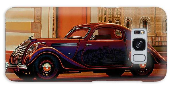 Popular Galaxy Case - Skoda Popular Sport Monte Carlo 1935 Painting by Paul Meijering
