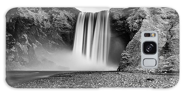 Galaxy Case featuring the photograph Skogafoss by James Billings