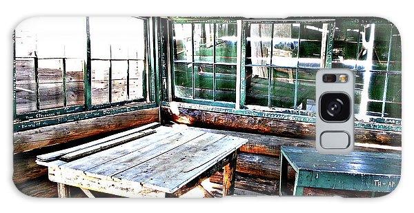 Skookum Butte Lookout Cabin  Galaxy Case