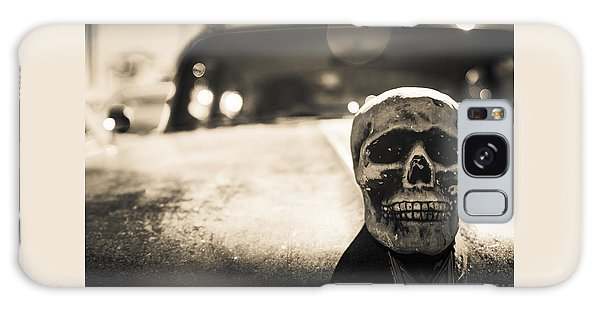 Skull Car Galaxy Case
