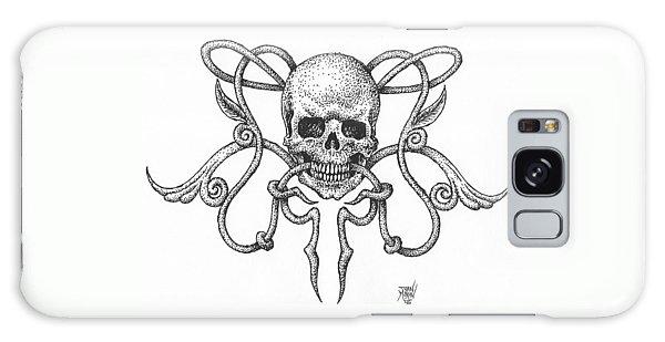 Skull Design Galaxy Case
