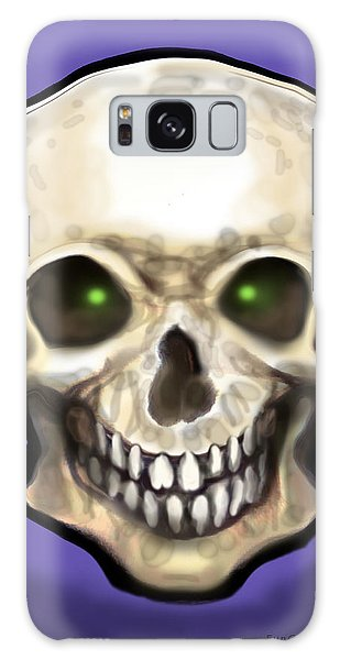 Skull Galaxy Case by Kevin Middleton