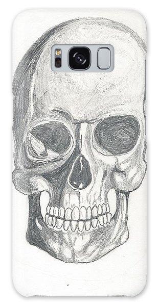 Skull Study 2 Galaxy Case
