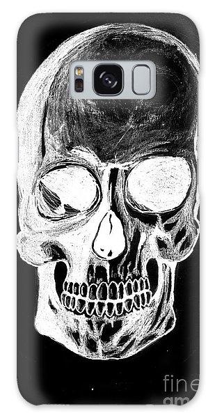 Skull Study 3 Galaxy Case