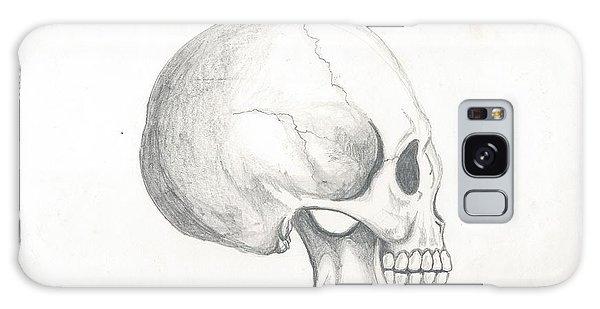 Skull Study Galaxy Case