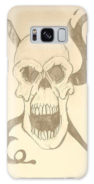 Skull Tattoo Galaxy Case