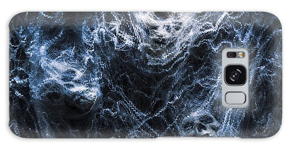 Skulls Tangled In Fear Galaxy Case by Jorgo Photography - Wall Art Gallery