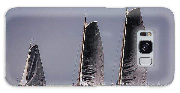Skutsje Wedstrijd Voor De Wind Galaxy Case