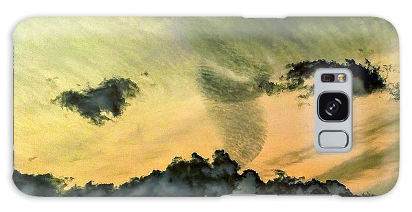 Cloud Art Inverted Colors Galaxy Case