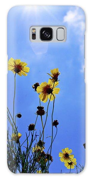 Sky Flowers Galaxy Case