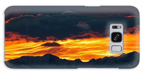 Sky Lava Galaxy Case by Colleen Coccia