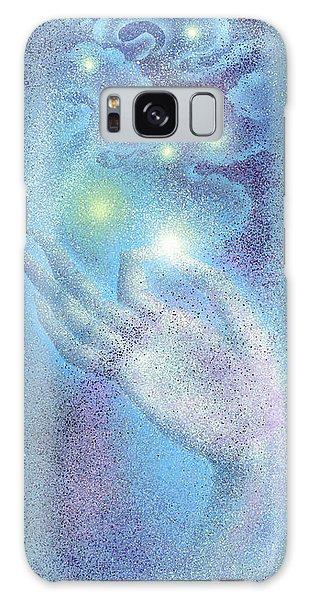 Sky Mudra Galaxy Case by Ragen Mendenhall