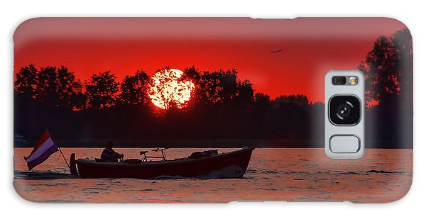 Sky On Fire Galaxy Case