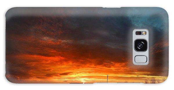 Sky On Fire Galaxy Case